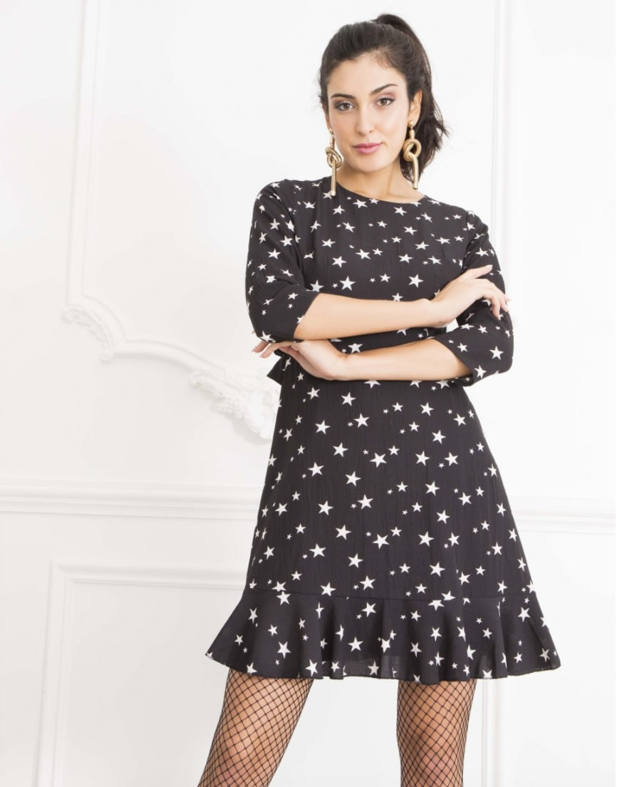 Alila-Open-Back-Black-Star-Summer-Dress-Danity