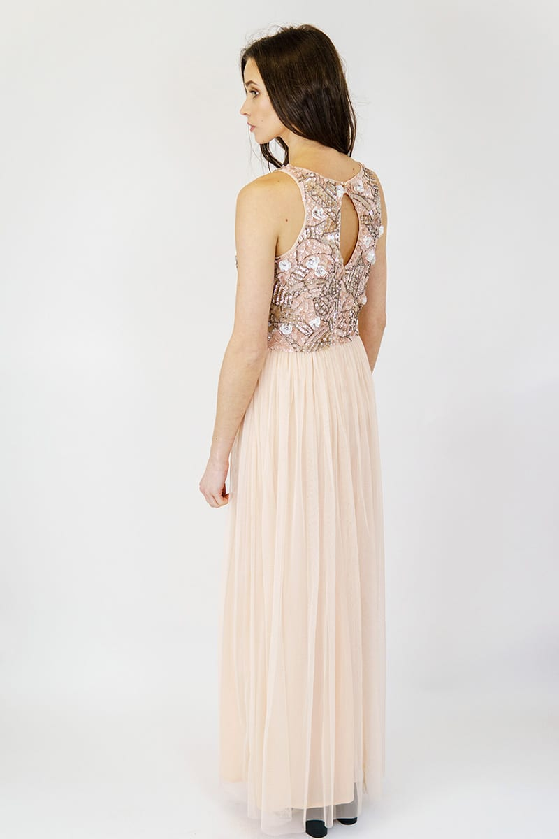 Alila-Pink-Embellished-Tulle-Gown-AngelEye