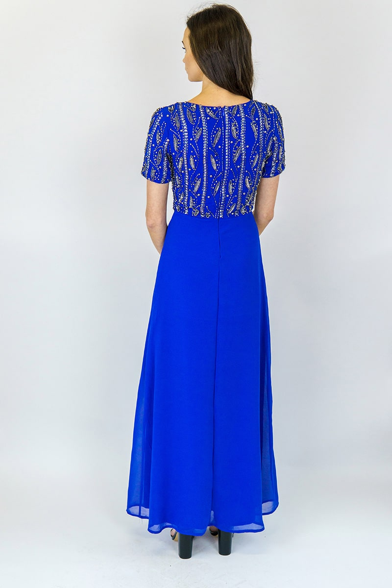 Alila-Royal-Blue-Embellished-Gown-AngelEye-Back