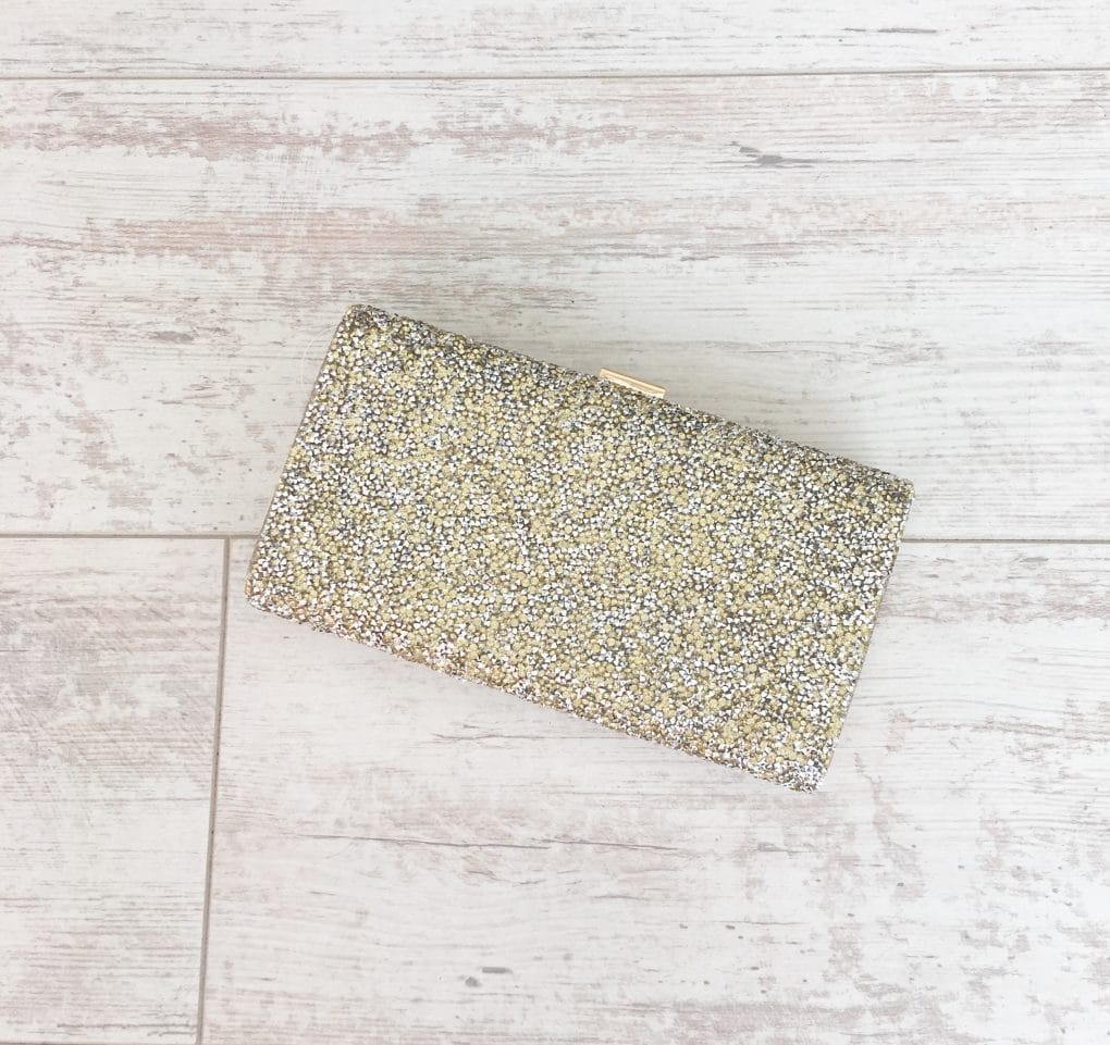 Alila-Gold-Embellished-Box-Clutch-Mascara-Front