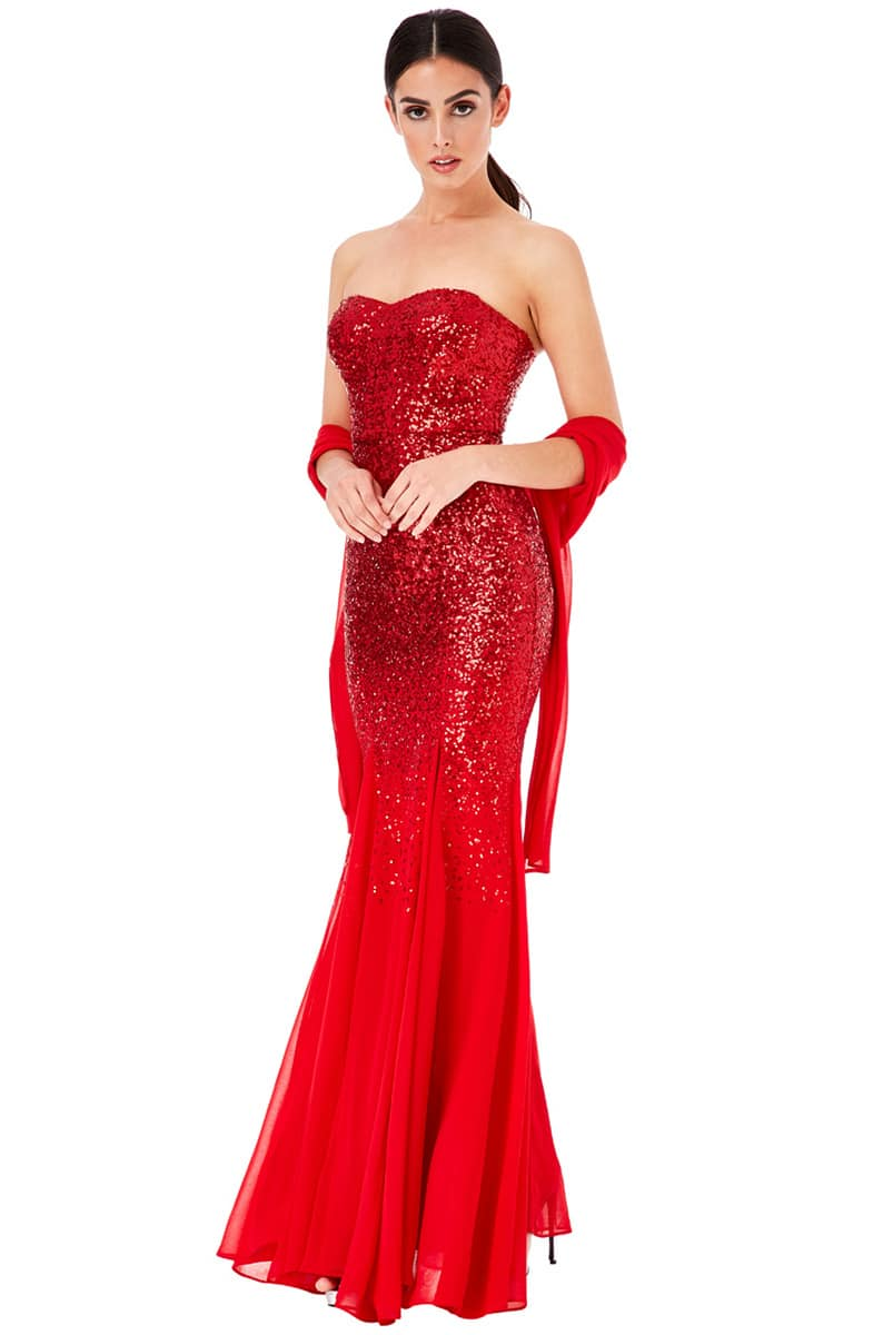Alila-Red-Sequins-Strapless-Debs-Dresses-Dublin-City-Goddess