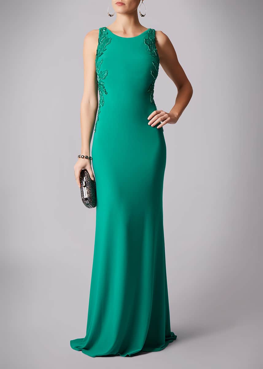 Mascara-Dream-Green-Gown-open-Back-Alila-Dublin