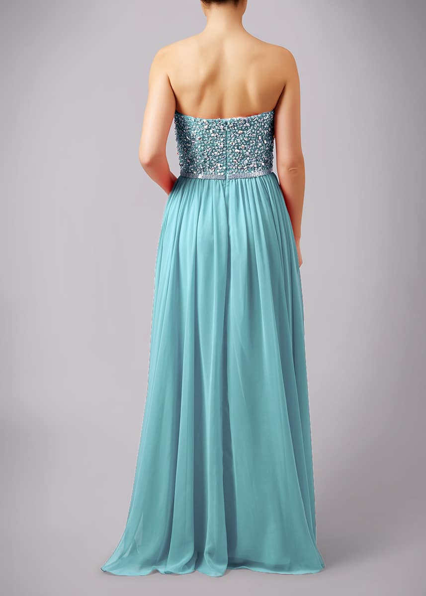 Mascara-Mint-Beaded-Strapless-Debs-Dress-Alila-Dublin