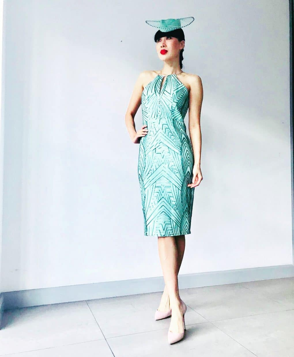 Bariano-Lumier-Mint-Sequins-Midi-Dress-Ireland-Am-Alila
