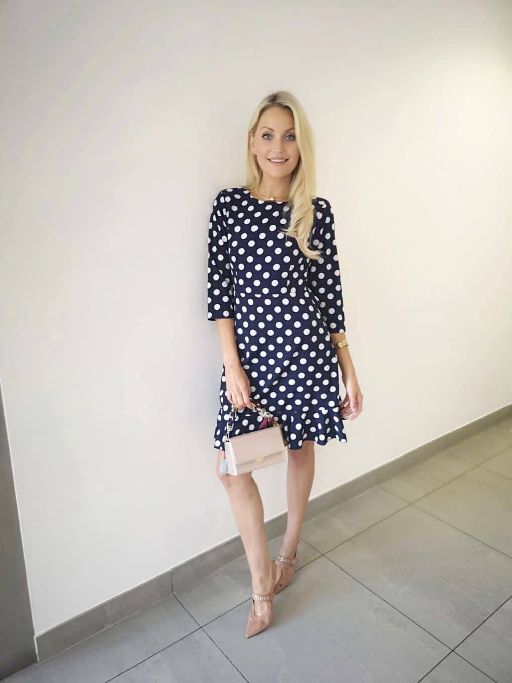 Danity-Navy-Polka-Dot-Dress-Ireland-Am-Alila