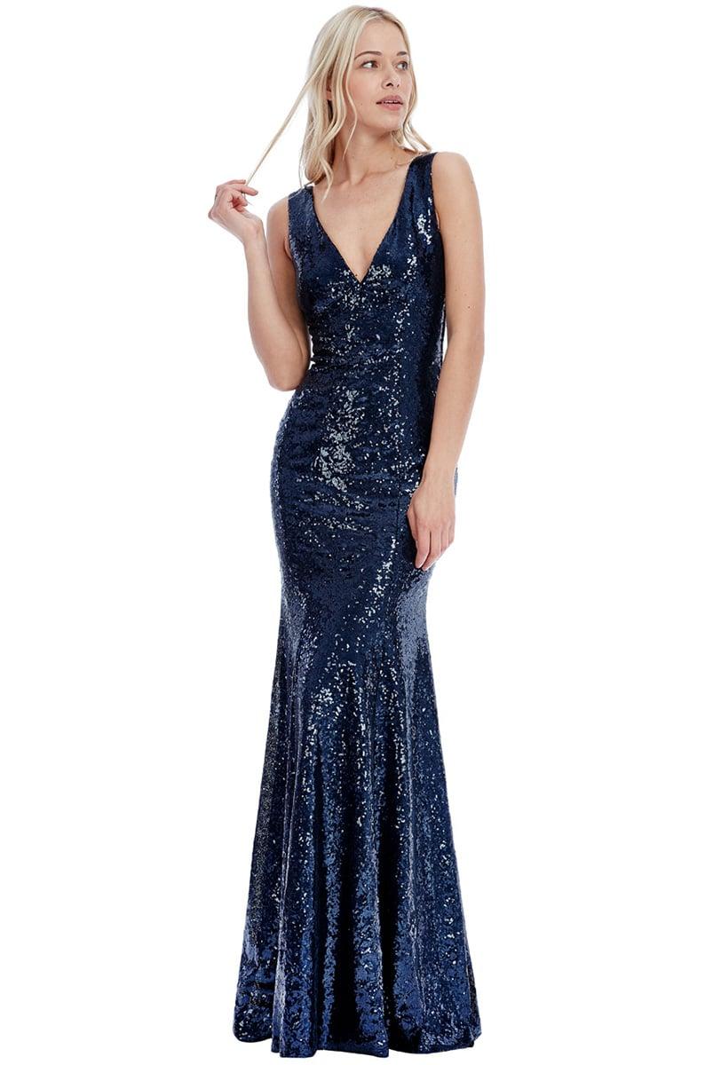 22558d57dda Navy-Sequin-debs-dress-Alila-Boutique-City-Goddess