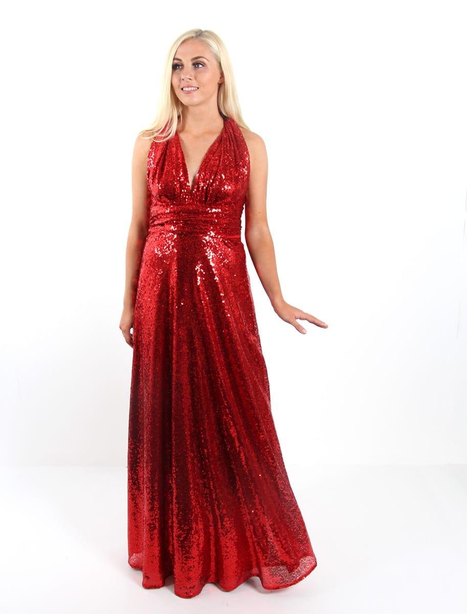 Sequin-Bridesmaid-Multiway-Goddess-By-Nature-Red-Wine-Alila-Bridal