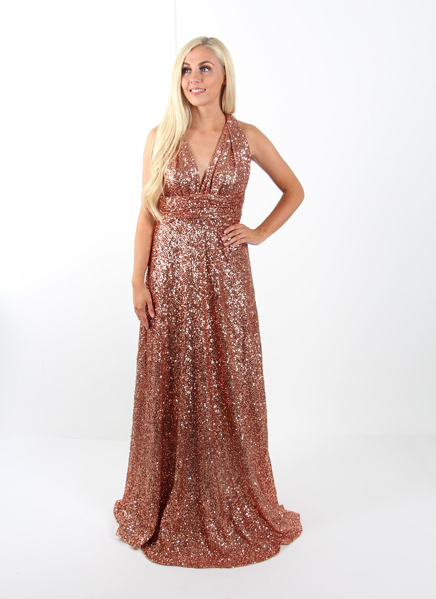 Sequin-Multiway-DRESS-Goddess-By-Nature-Rose-Champagne-Alila