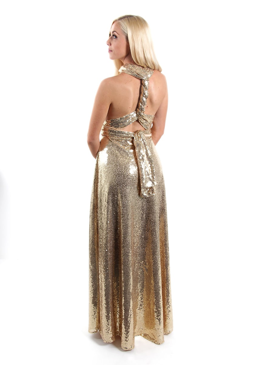 Sequins-Bridesmaids-Multiway-Goddess-By-Nature-Gold-Champagne-Alila