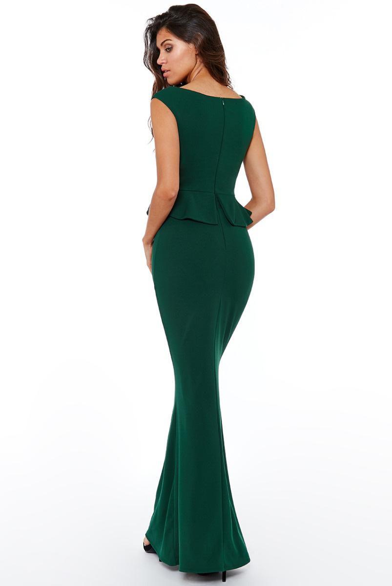 DR1913-Emerald-Green-Peplum-Bridesmaids-Dress-Alila-Boutique-Bridal-