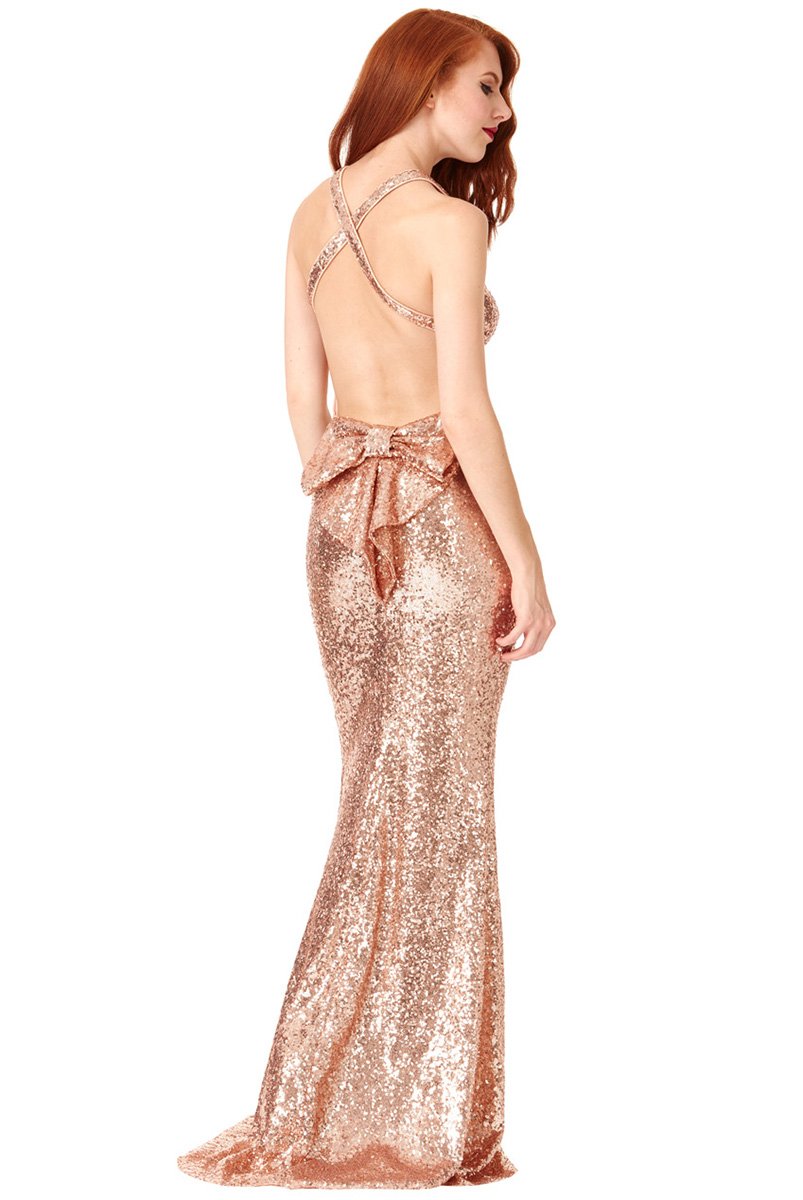 DR757SB-Champagne-sequin-open-bow-back-debs-dress-Alila