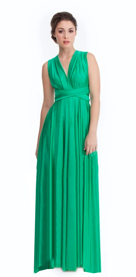 Green With Envy Bridesmaids dress Alila