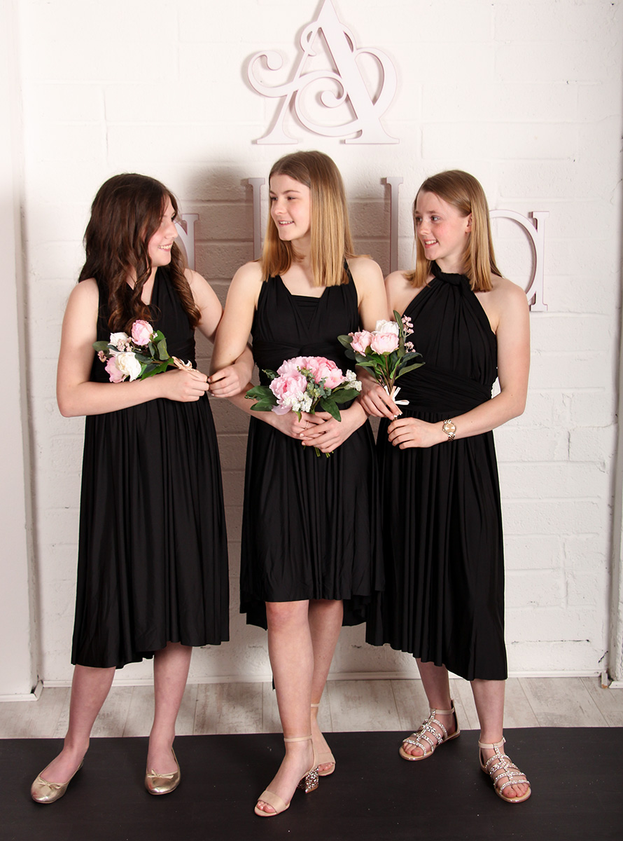 Junior-Bridesmaid-Black-MULTIWAY-Alila-Boutique
