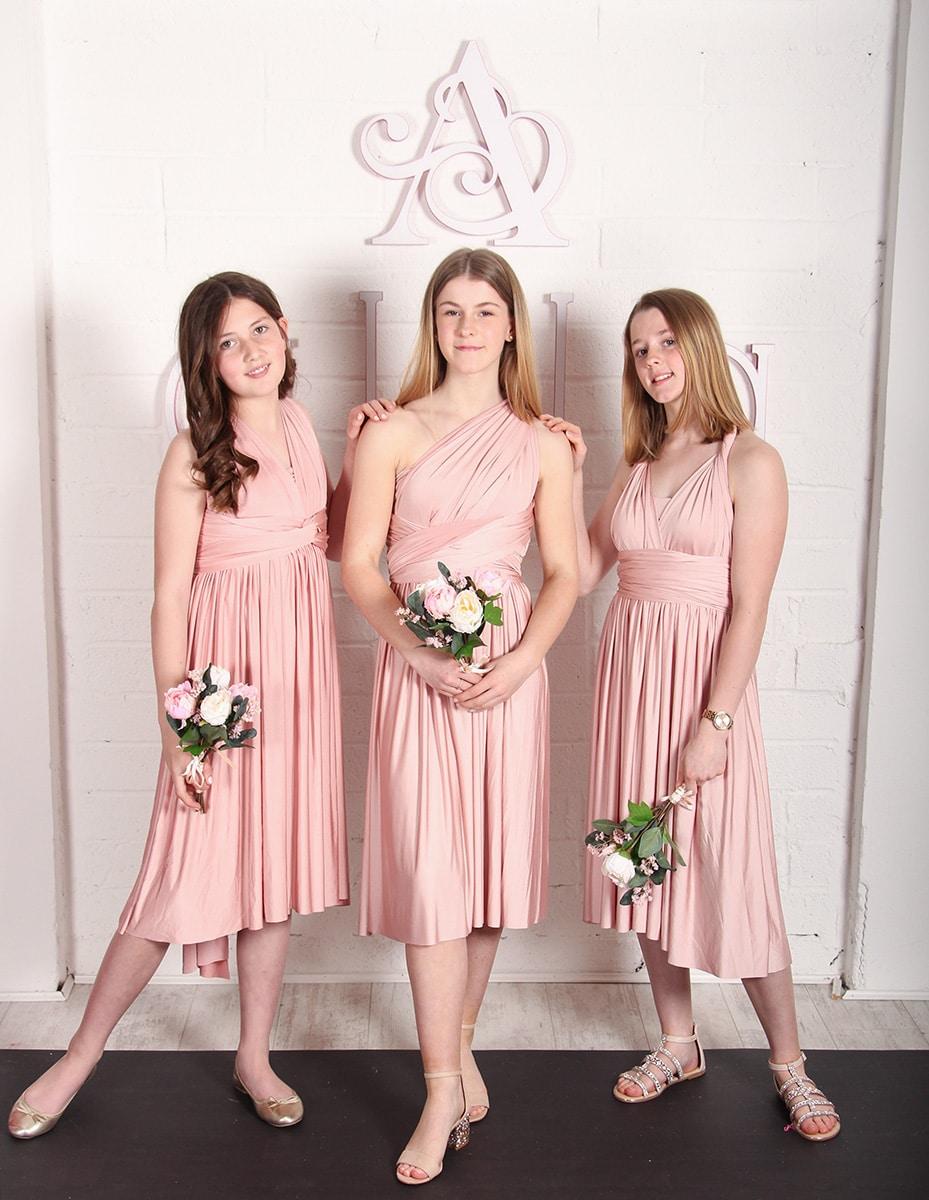 Junior-Bridesmaid-Dress-Dusty-Rose-MULTIWAY-Alila-Boutique
