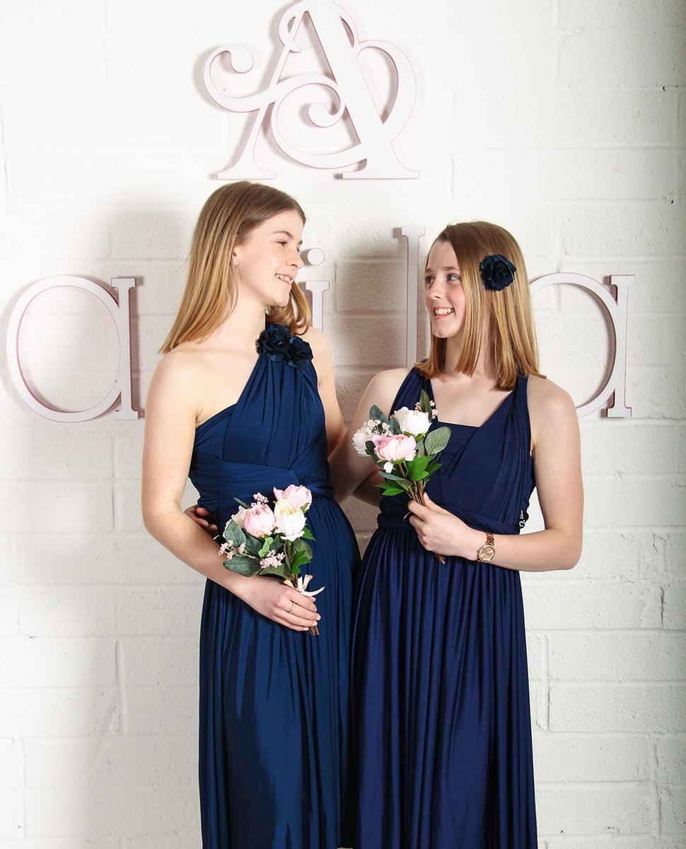 Junior-Bridesmaid-Dress-Navy-MULTIWAY-Alila-Boutique