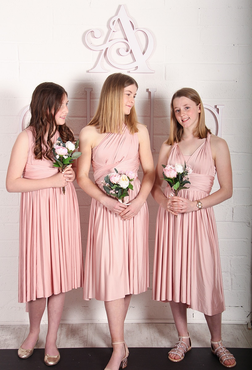 636c50ffb4d Pink And Gold Junior Bridesmaid Dress - Data Dynamic AG