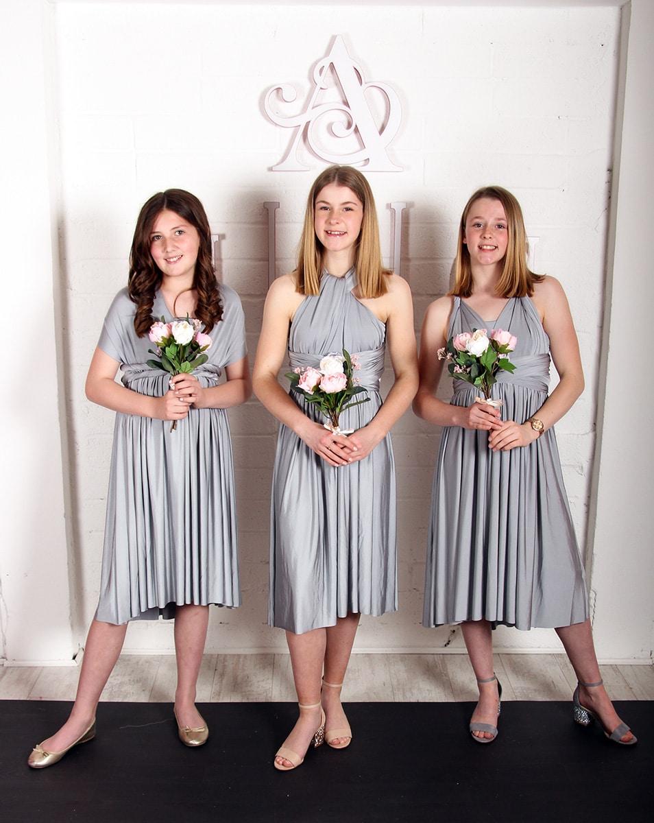 Junior-Bridesmaids-Dress-Silver-MULTIWAY-Alila-Boutique