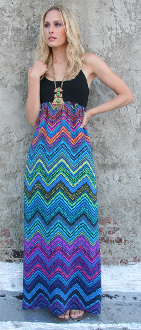 Alice-and-Trixie-Phoebe-Multicoloured-Maxi-Dress