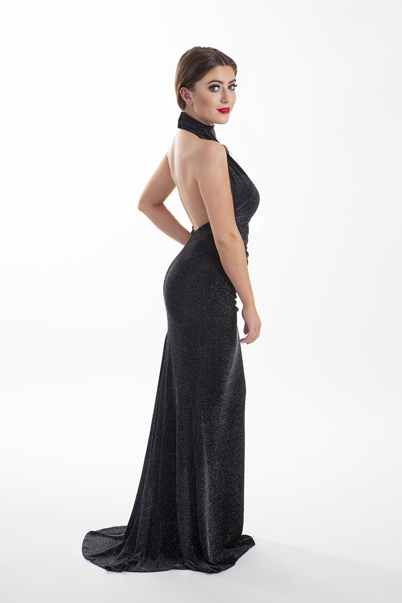 Chloe-Ormond-Black-Glitter-Low-Back-Debs-Dress-Alila-Boutique