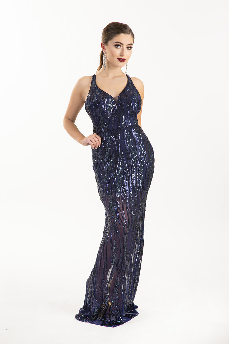Chloe-Ormond-Navy-Sheer-Sequin-Strappy-Back-Debs-Dress-Dublin-Alila