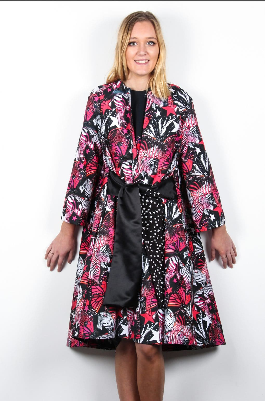 Find-your-Zebra-Swing-Coat-with-Sash-Atalier