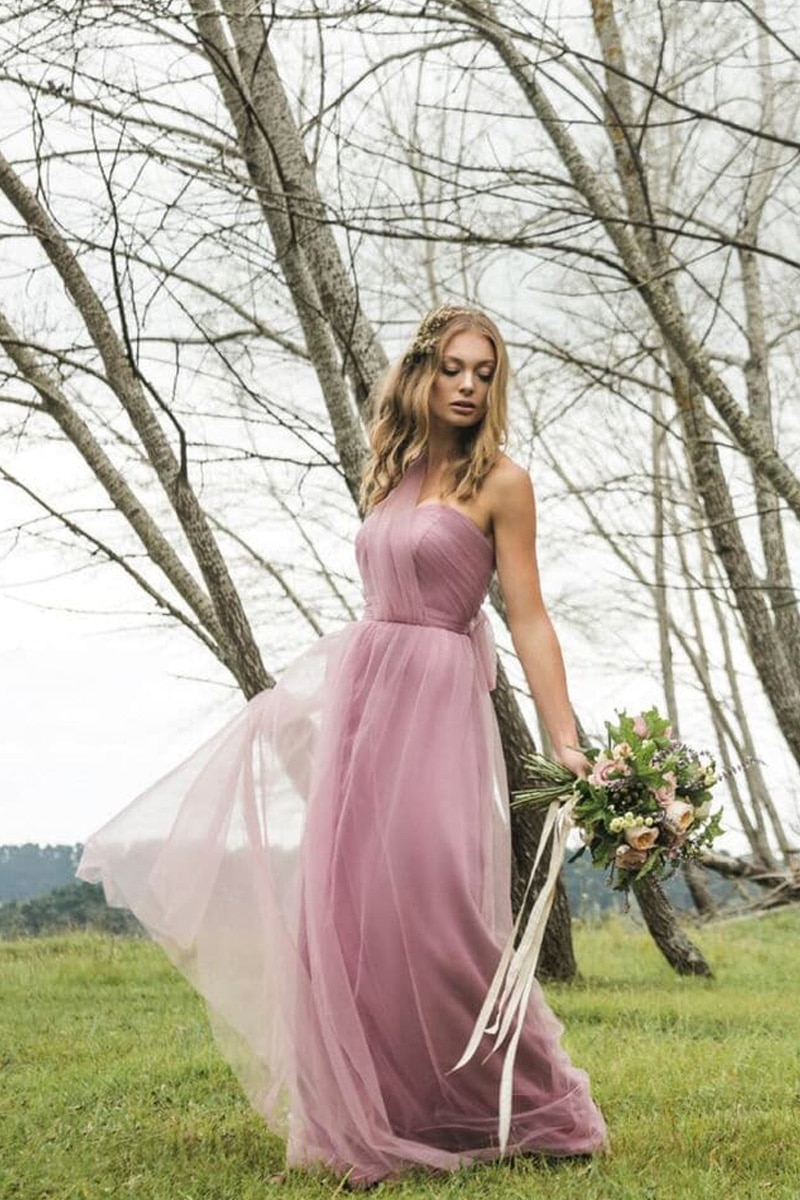 Goddess-By-Nature-Ethereal-Tulle-Strapless-Gown-Alila-Cherry-Blossom