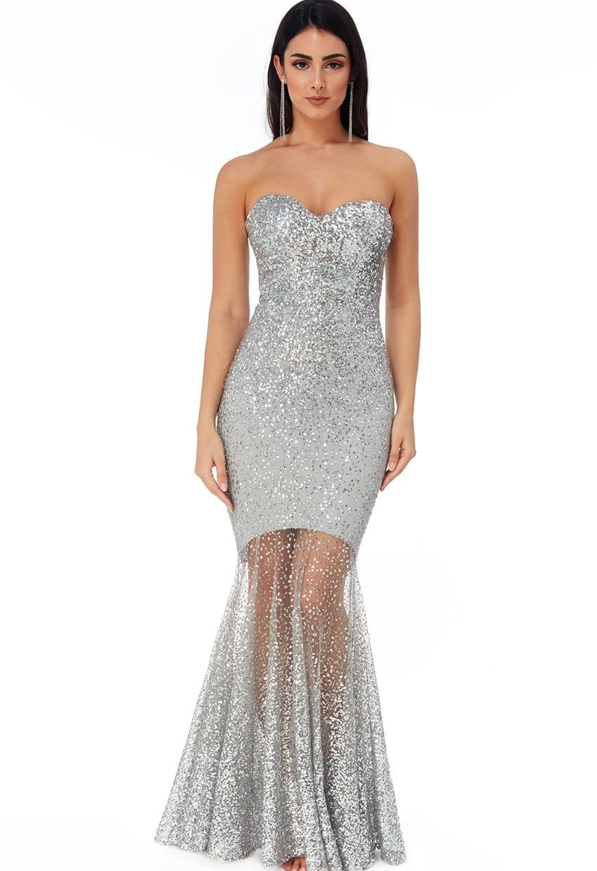 Silver-Sequin-Fishtail-sheer-debs-dress-Alila-Boutique-ireland