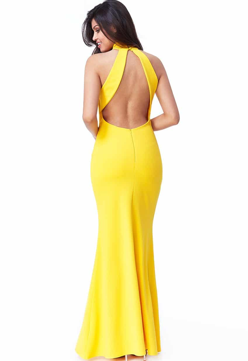 Yellow-Open-Low-Back-Debs-Dress-Alila-Ireland