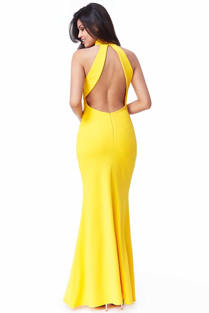 Yellow-Open-Low-Back-Debs-Dress-Alila-Ireland