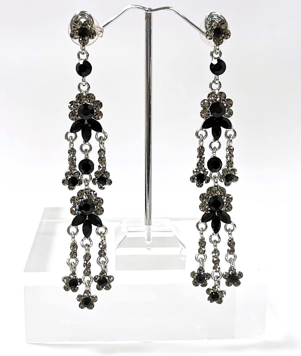 Black-grey-crystal-chandelier-earrings-Alila-Ireland