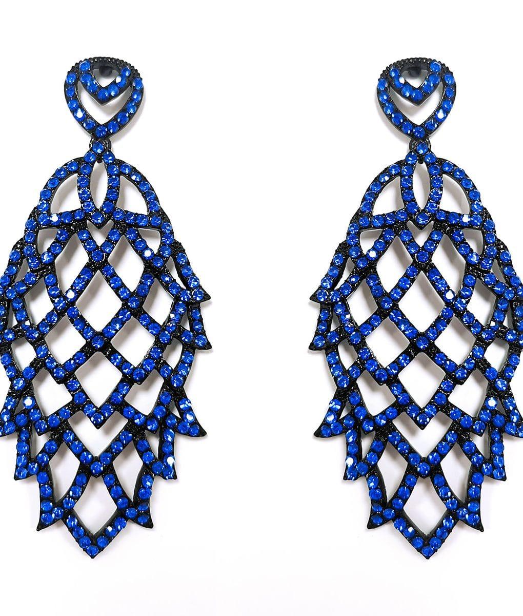 Sapphire-honeycomb-crystal-earrings-Alila-Irish