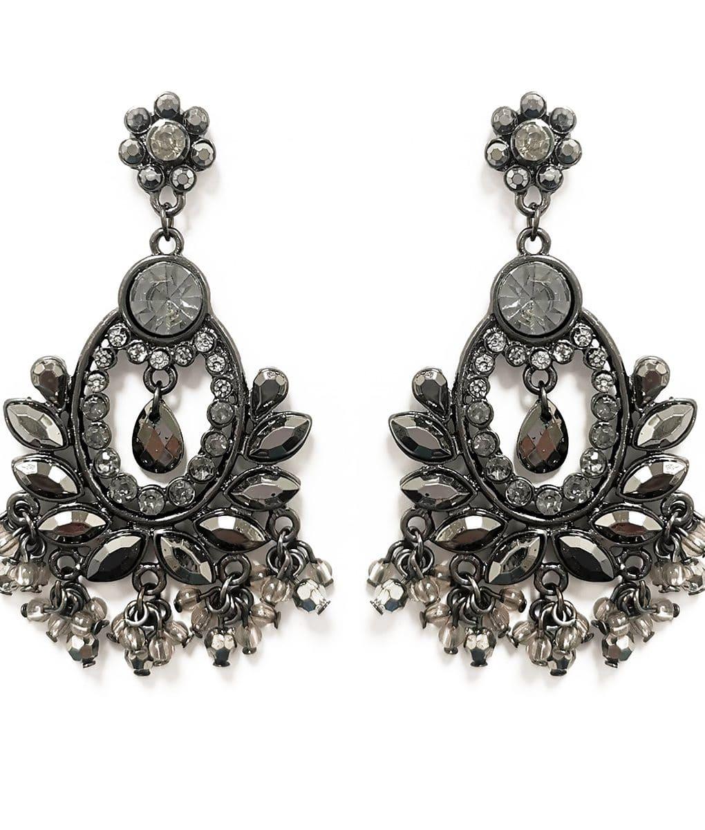 Vintage-style-grey-crystal-chandelier-earrings-Alila-Ireland